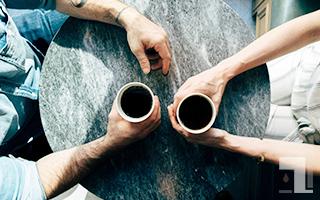 美味しそうなブラックコーヒー