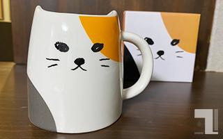 ネコ型カップ