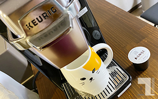 BS300でコーヒーを淹れる