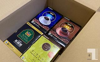 キューリグ「コーヒーおまかせ定期便」で届いたK-Cup(3回目)