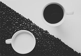 ブラックコーヒー&ホワイトミルク