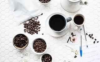 コーヒーや豆など